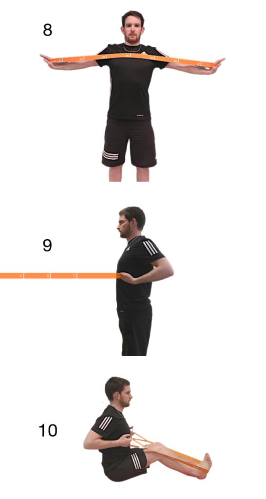 3 exercices avec élastique qui travaillent les rhomboïdes